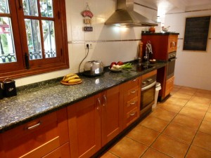 image of kitchen in Cortijo Las Viñas